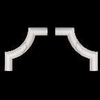Декоративные уголки Decor-Dizayn