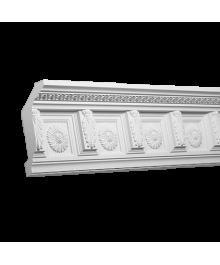 Карнизы потолочные из полиуретана с рисунком