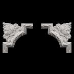 Угловые элементы из полиуретана Европласт
