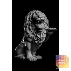 Статуя Лев (лев.) LV-002 Декор из стекловолокна Decorus
