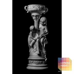 Статуя Брат с сестрой ST-005 Декор из стекловолокна Decorus