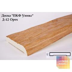 Полиуретановые доски Д-12 Орех (12*2,5*200) Уникс