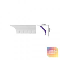K 123 (2,00 м) FLEXI (U) Карниз с орнаментом
