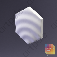 3D Панель Elementary HEKSA-drip E-0009 Artpole