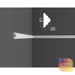Молдинг M 3.41.20 DEARTIO (ДеАртио) МДФ Белый