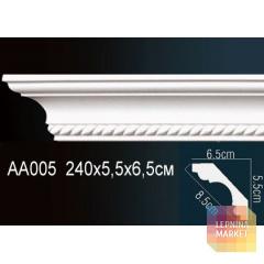 Гибкий потолочный плинтус Перфект AA005F