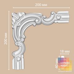 Угловой элемент 97010-6 Decomaster