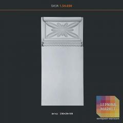 Дверной декор из полиуретана 1.54.030 Европласт
