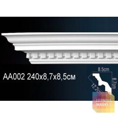 Гибкий потолочный плинтус Перфект AA002F
