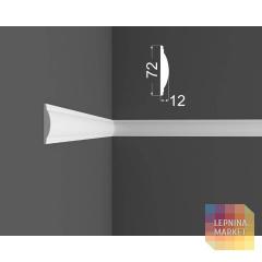Молдинг M 10.72.12 DEARTIO (ДеАртио) МДФ Белый