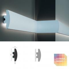 Tesori KD 506 - встраиваемый молдинг для LED подсветки