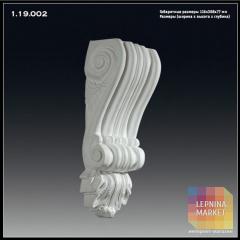Кронштейн из полиуретана 1.19.002  Европласт