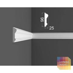 Молдинг M 7.96.25 DEARTIO (ДеАртио) МДФ Белый