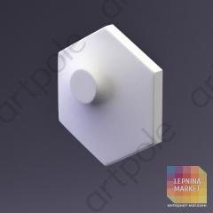 3D Панель Elementary HEKSA-dots E-0006-platinum Artpole