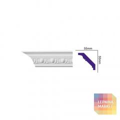 K 113 (2,00 м) FLEXI (U) Карниз с орнаментом