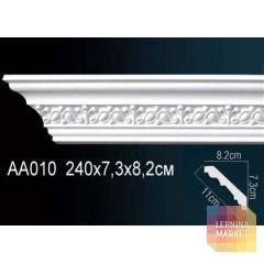 Гибкий потолочный плинтус Перфект AA010F