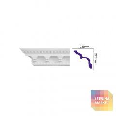 K 131 (2,00 м) (U) Карниз с орнаментом