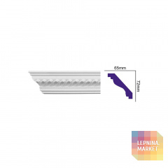 K 101 (2,00 м) FLEXI (U) Карниз с орнаментом