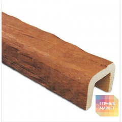 Декоративная балка Рустик (дуб светлый) 190*170*3000