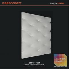 3D Декоративная панель 1.59.004 Европласт