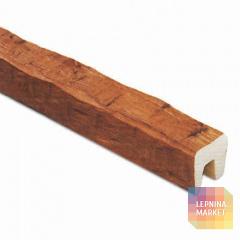 Декоративная балка Рустик (дуб светлый) 120*120*4000