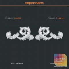 Орнамент из полиуретана 1.60.023 Европласт