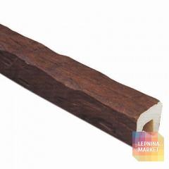 Декоративная балка Рустик (дуб темный) 120*120*2000