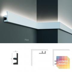 Полиуретановый молдинг-плинтус под подсветку Tesori KF 501