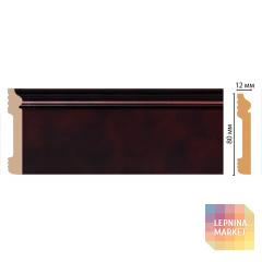 D005-62/26 Плинтус напольный DECOMASTER ДМ(79*13*2400 мм)