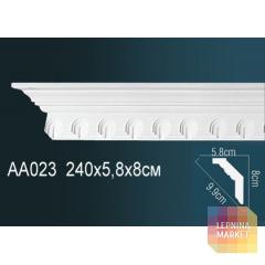 Гибкий потолочный плинтус Перфект AA023F