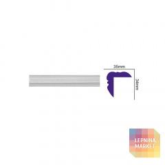 K 1207 (2,00 м) FLEXI (U) Карниз с гладким профилем