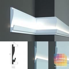 Tesori KD 405 - встраиваемый молдинг для скрытой LED подсветки