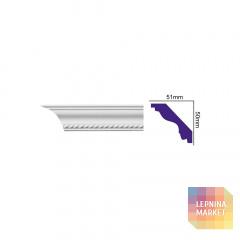 K 137 (2,00 м) Flexi (U) Карниз с орнаментом
