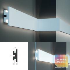 Tesori KD 302 - настенный встраиваемый молдинг для LED подсветки
