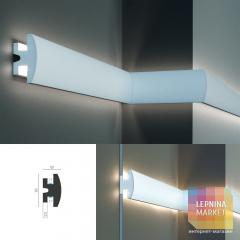 Tesori KD 305 - встраиваемый молдинг для LED подсветки
