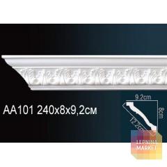 Гибкий потолочный плинтус Перфект AA101F
