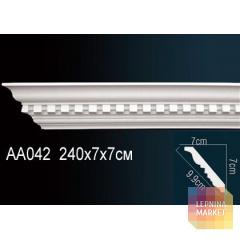 Гибкий потолочный плинтус Перфект AA042F