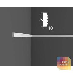 Молдинг M 9.31.10 DEARTIO (ДеАртио) МДФ Белый