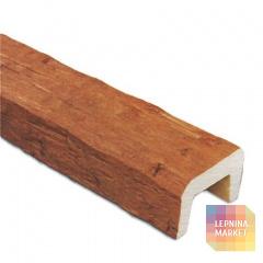 Декоративная балка Рустик (дуб светлый) 200*130*4000