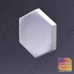 3D Панель Elementary HEKSA-big button E-0005-platinum Artpole