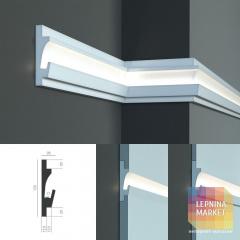 Tesori KD 401 - встраиваемый молдинг для скрытой LED подсветки