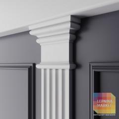 Декор. эл-т верхний Ultrawood арт. D 3011N (112x89x30)