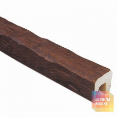 Декоративная балка Рустик (дуб темный) 120*120*4000