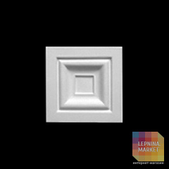 Декор квадрат 1.54.001 Европласт