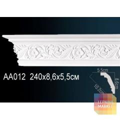 Гибкий потолочный плинтус Перфект AA012F