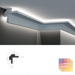 Tesori KD 503 - угловой потолочный карниз для подсветки