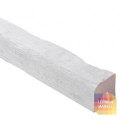 Декоративная балка TIROL (белая) 120*120*4000
